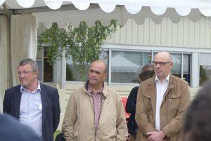 Messieurs Dhennin, Martineau et Borderieux