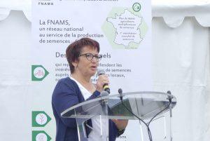 Mme Lambert, Présidente de la FNSEA