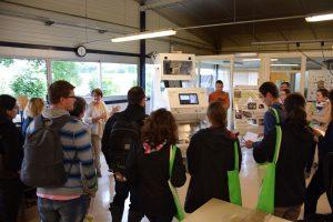 Visite du laboratoire Labosem