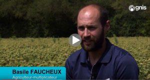 Basile Fauchaux, multiplicateur de semences potagères - FNAMS