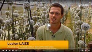 Lucien Laizé, agriculteur multiplicateur de semences