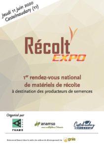 Flyer Récolt'Expo 2020